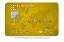 gold backed debit card
