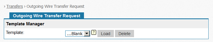 Load an Optional Template